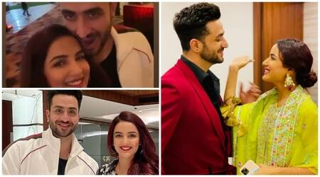 Aly Goni birthday bash 13 photos Jasmin Bhasin Bigg Boss 14