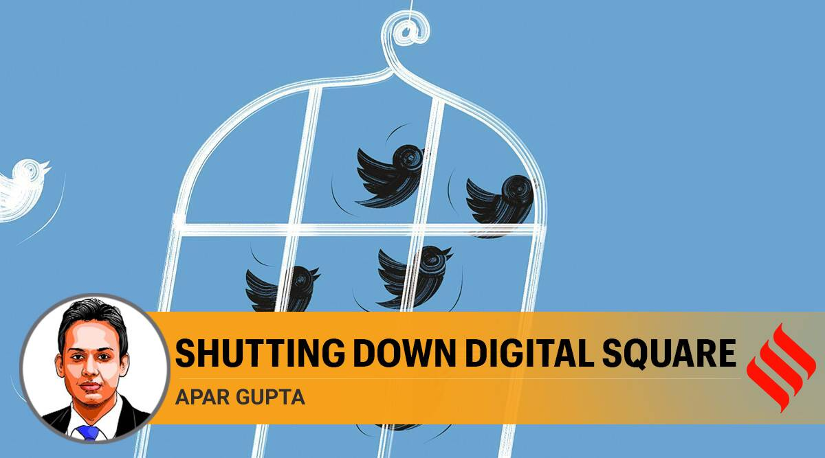 Twitter, Twitter modi govt, Twitter accounts suspended, Farm laws, Farm laws protests, IT Act, right to receive information, freedom to speech freedom of expression, Apar Gupta writes, Indian express column