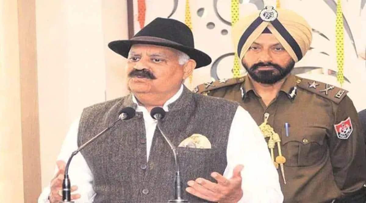 VP Singh Badnore, Chandigarh news