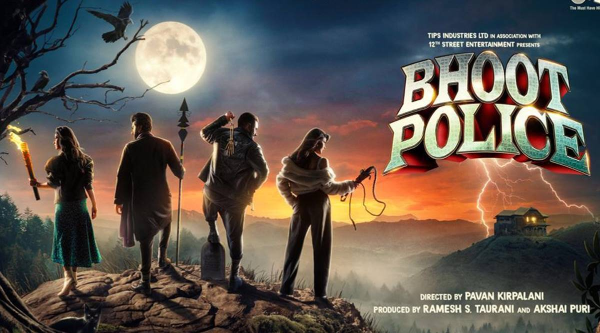 Bhoot Police: Saif, Arjun, Yami and Jacqueline turn ghostbusters |  Entertainment News,The Indian Express
