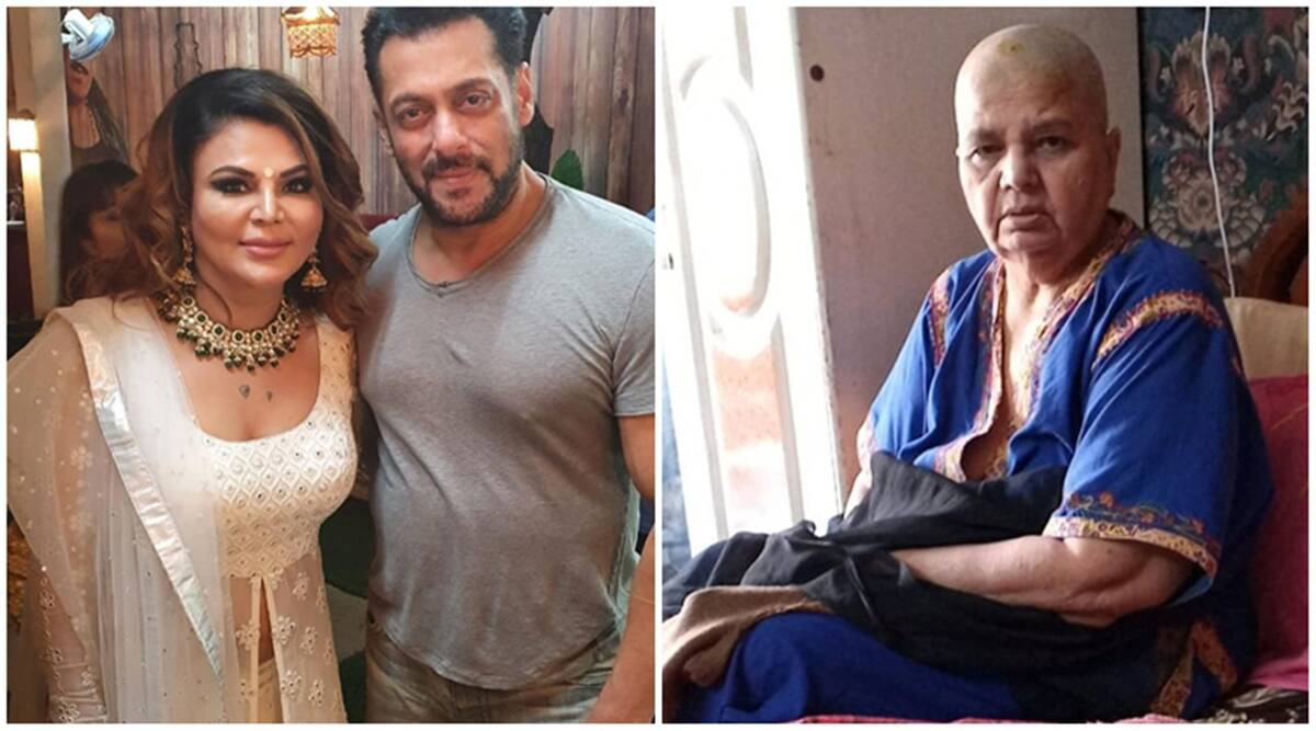 Rakhi Sawant shares her mother has started cancer treatment, gives a shout-out to 'god brother' Salman Khan | Entertainment News,The Indian Express