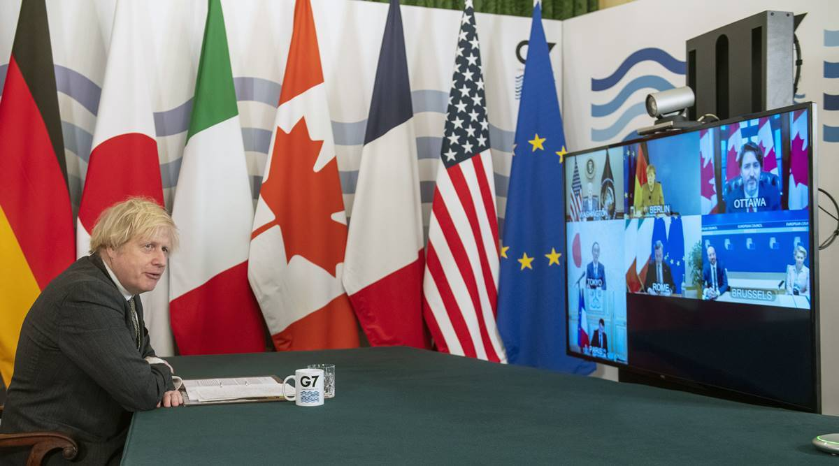 G-7 vows 'equitable' world vaccine access, but details scant