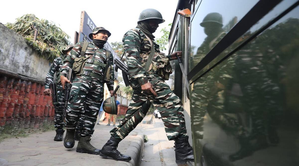 CAPF deployment, Upcoming assembly elections, Election Commission, EC, central forces, Bengal news, Indian express news