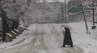 Heavy snowfall in Kashmir valley brings back cold wave conditions