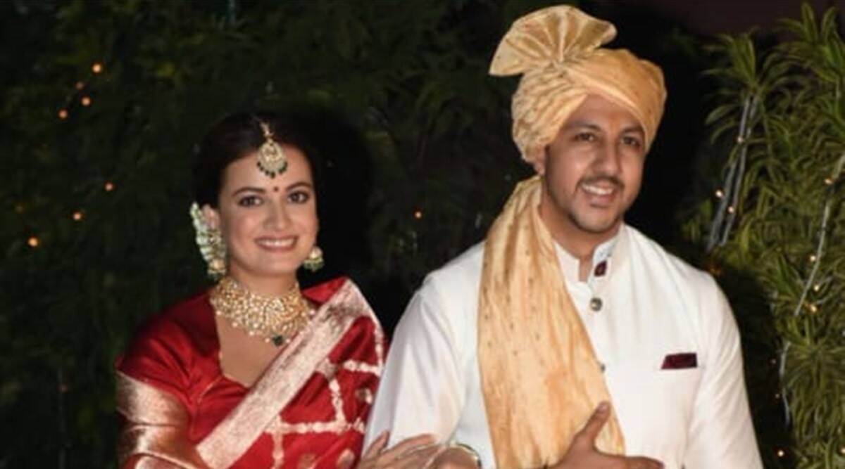 Dia Mirza marries Vaibhav Rekhi in intimate wedding, see first pics - The Indian Express