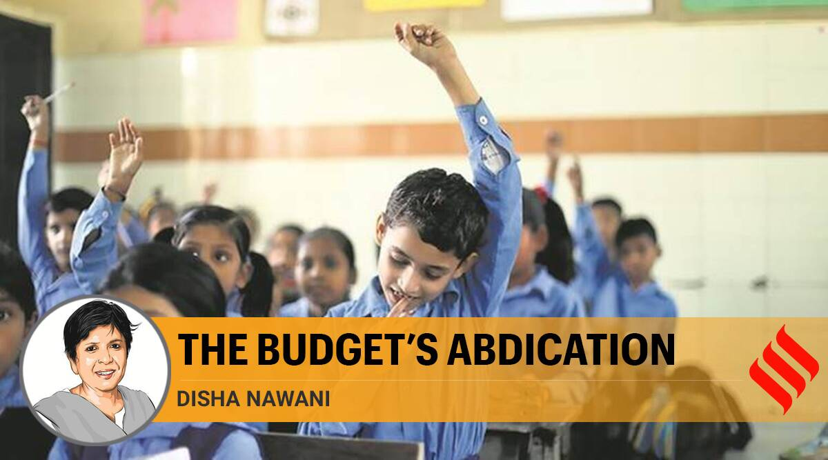 education, Budget allocation, Covid pandemic, National Education Policy, NEP, Public Education System, education Budget decreased, Union Budget, Indian express opinion