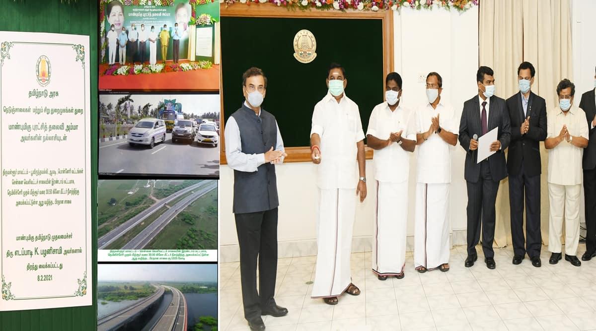 Edappadi K Palaniswami, Chennai Outer Ring Road