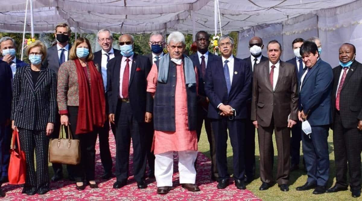 Foreign envoys visit Srinagar, Jammu and kashmir, kashmir specuial status, kashmir polls, kashmir legislative polls, jandk news, indian express news
