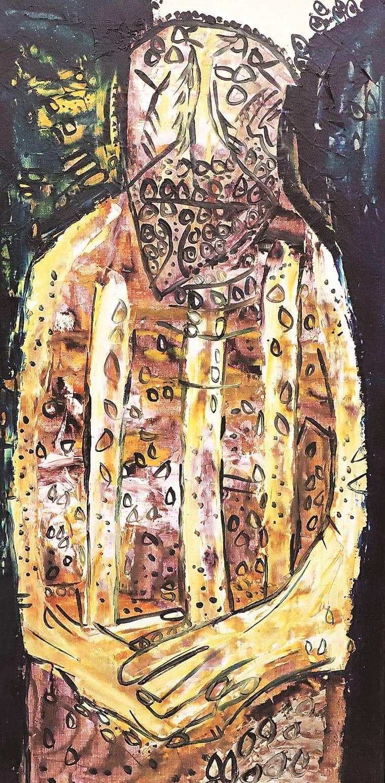 F.N. Souza art