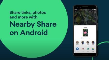 Google, Google Nearby Share, Share apps, Share apps with Nearby Share,