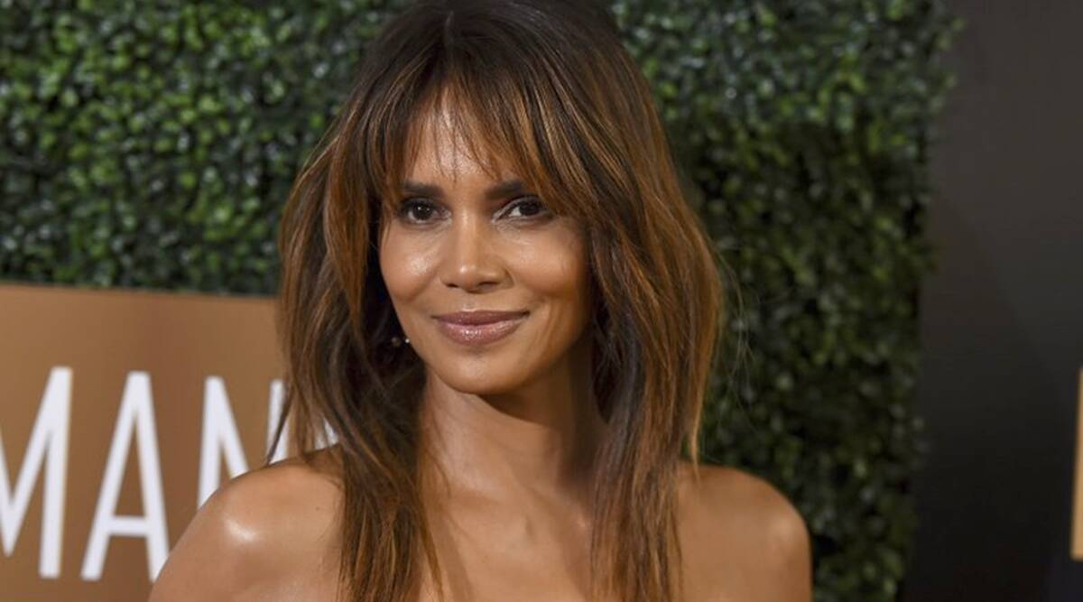 halle berry, halle berry oscars, halle berry oscars, halle berry hairdo, halle berry hairdo, indian express, indian express news