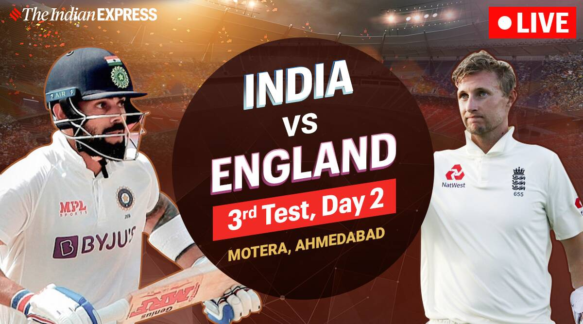 India vs England 3rd Test Live Cricket Score: Rohit, Rahane look to give India lead on Day 2