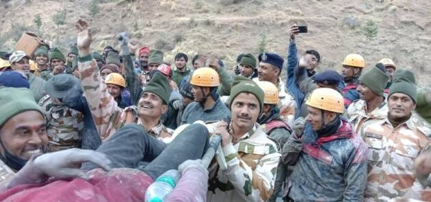ITBP rescues workers from Tapovan tunnel