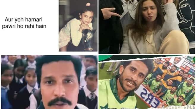 Indian, Pakistani celebs unite, because 'pawri ho rahi hai' - The Indian Express