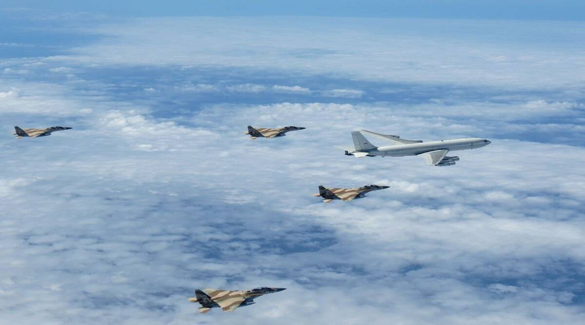 Israeli air force holds 'surprise' combat drill along northern border; Syrian army reacts