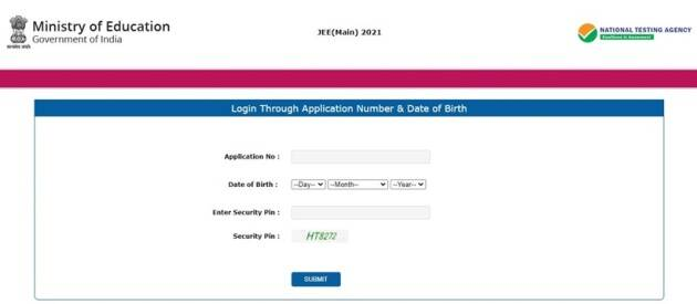 JEE Main admit card, JEE official website, JEE Main 2021 Exam