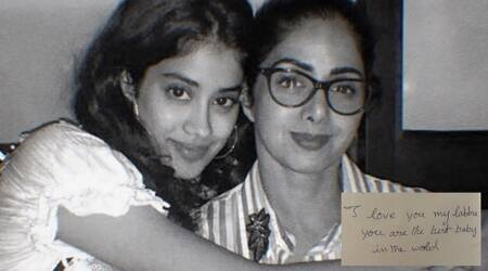 Janhvi Kapoor shares a hand written note by mom Sridevi on her death anniversary