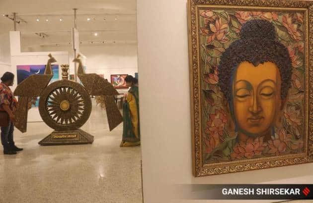 Jehangir Art Gallery, Jehangir Art Gallery in Mumbai, Mumbai's Jehangir Art Gallery, Jehangir Art Gallery photos, Jehangir Art Gallery reopening, inside Jehangir Art Gallery, indian express news
