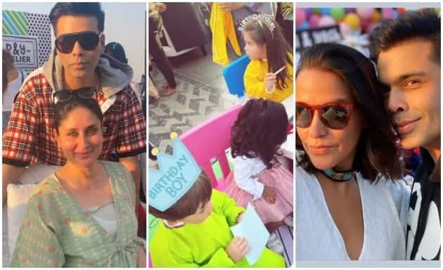 Karan Johar, Yash, Roohi birthday party kareena neha