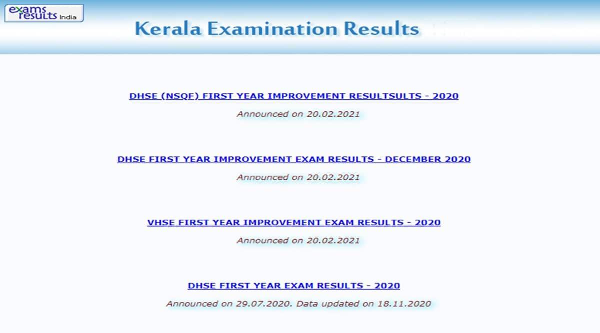 DHSE Kerala result, VHSE Kerala result, board exam results, kerala.gov.in, keralaresults.nic.in, results.itschool.gov.in, cdit.org, prd.kerala.gov.in, results.nic.in, educationkerala.gov.in and examresults.net/kerala.