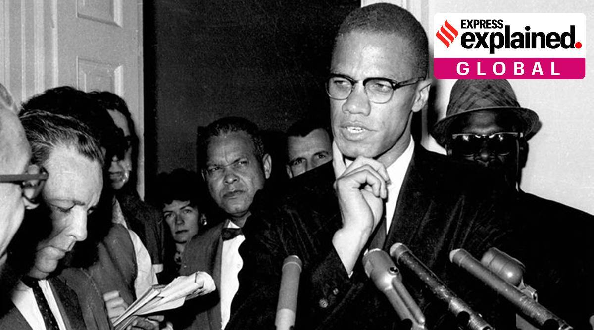 Malcolm X, Malcolm X murder, Malcolm X murder FNI NYPD, Malcolm X family letter on his murder, Malcolm X murder probe, Nation of islam, express explained, indian express