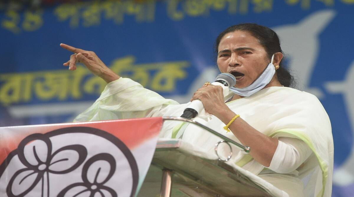 First fight Abhishek, then me: Mamata Banerjee hits back at Amit Shah - The Indian Express