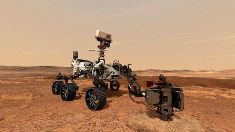 mars mission, nasa mars mission, Tianwen 1, Mangalyaan, uae hope rover,Perseverance rover, Perseverance rover landing, mission to mars, Indian Express