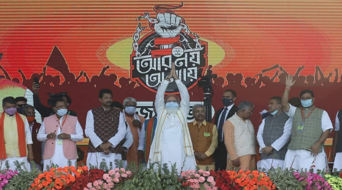Narendra Modi, West Bengal, Assam
