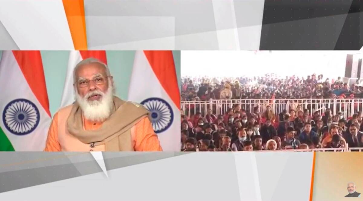 Unity of country is our priority: PM Modi at inauguration of Chauri Chaura centenary celebrations - The Indian Express