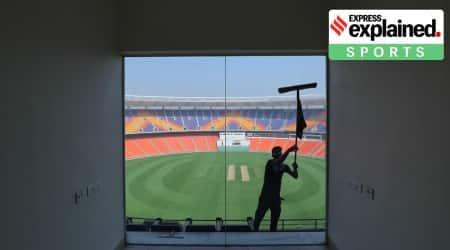 Narendra Modi Stadium, India Vs England series, Motera Stadium, Sardar Vallabhai Patel Stadium, Motera Stadium Renamed, Indian Express