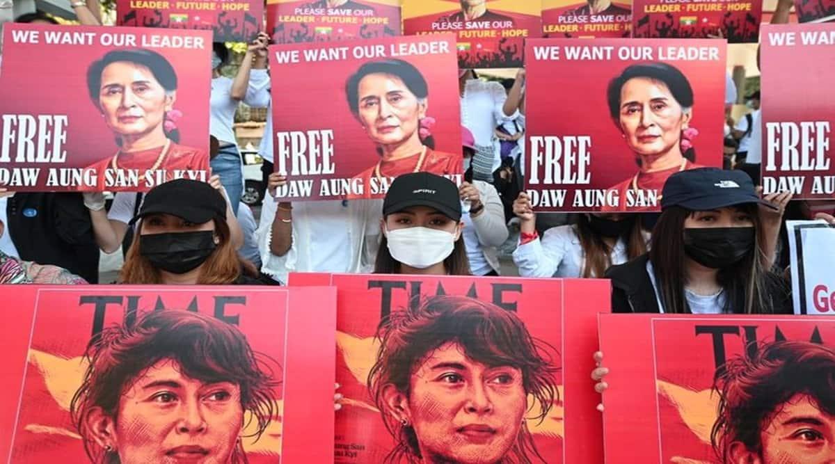 Aung San Suu Kyi, Myanmar coup, Burmese-Indians
