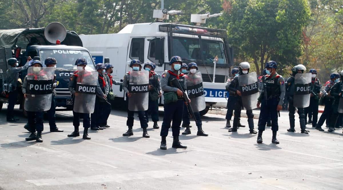 Myanmar riots, Myanmar coup, Myanmar protests
