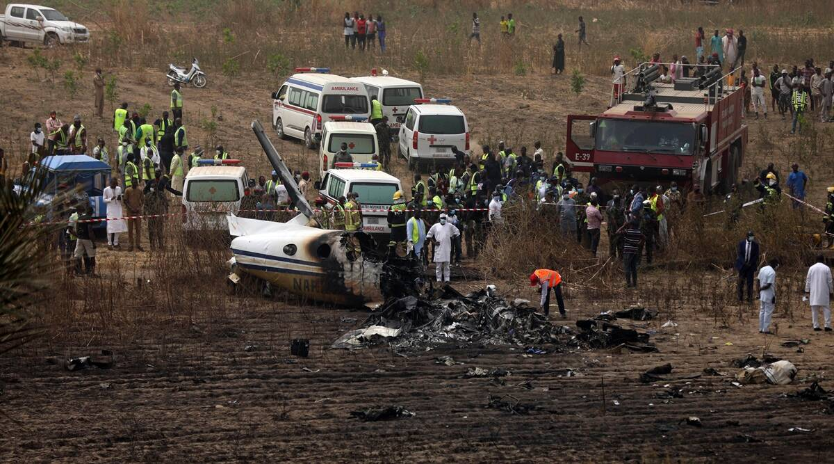 Nigeria, military plane crash