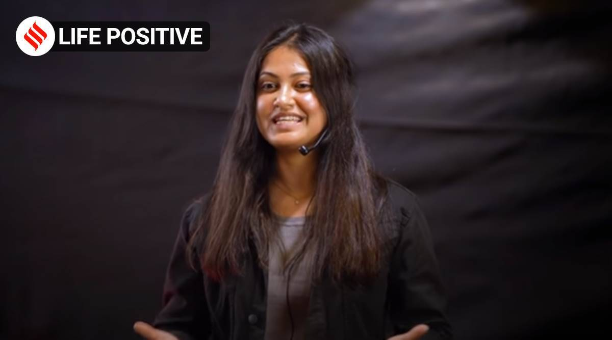 Niharicka Singh, Niharicka Singh TED talk, Niharicka Singh motivational, Niharicka Singh life positive, indian express news