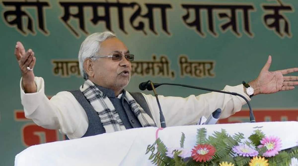 Nitish Kumar, Kanhaiya Kumar, Bihar politics, Nitish meets Kanhaiya kumar, LJP, JDU, Bihar news, Indian express
