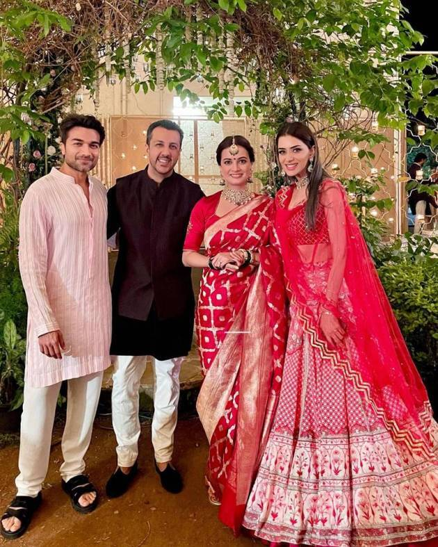 dia mirza wedding photo