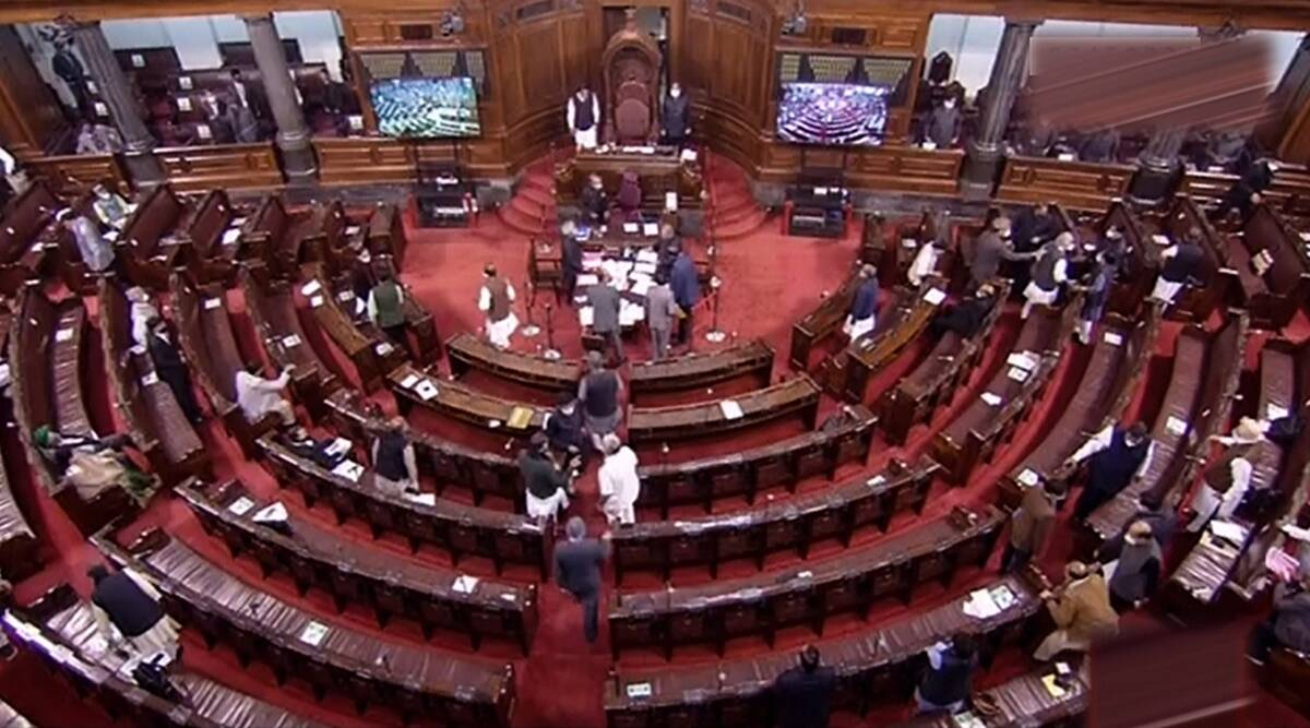 Parliament Highlights: Shun arrogance over farm laws, Opposition tells govt - The Indian Express