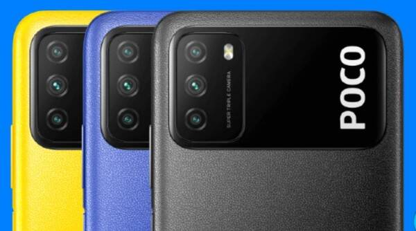 Poco, Poco M3, Poco M3 price in India,