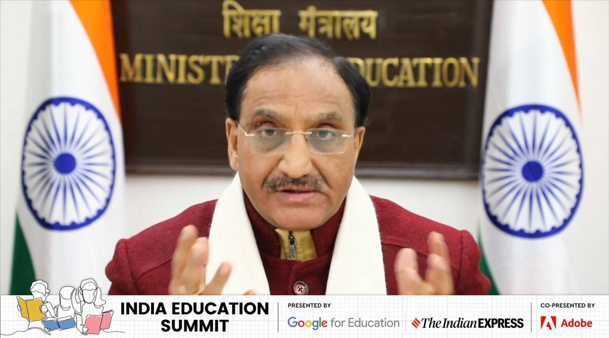 IES 2021, Indian Education Summit 2021, Ramesh Pokhriyal Nishank, NEP 2020. national education policy, new education policy, education news