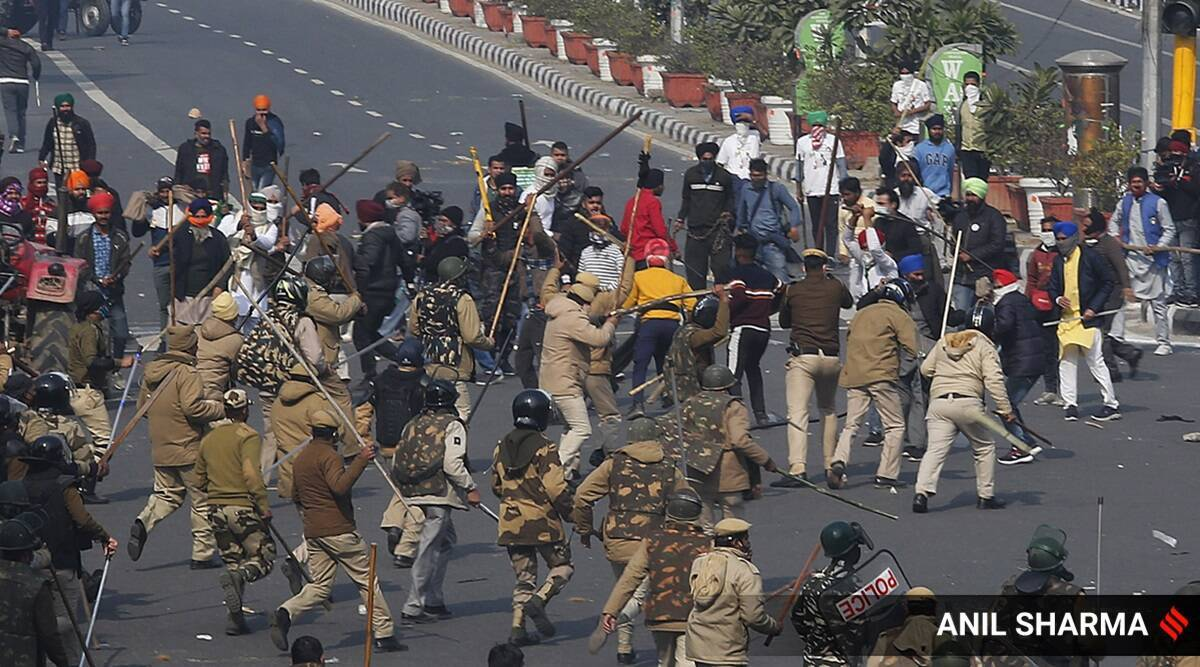 Republic Day violence, farmers protest, tractor rally violence