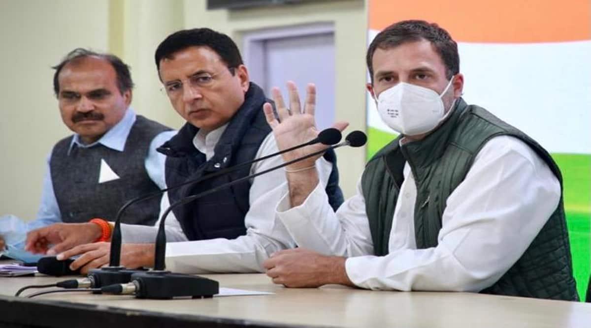 Rahul Gandhi, Narendra Modi, India-China standoff