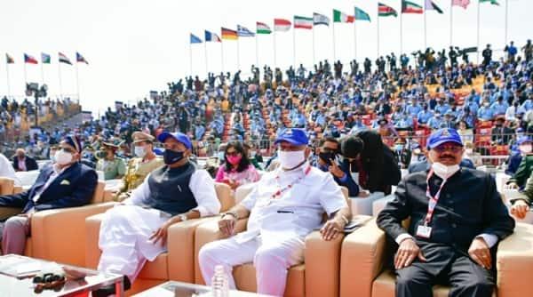 Aero India, Rajnath Singh