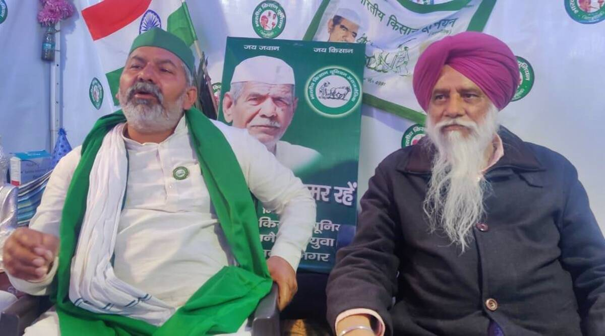 Rakesh Tikait, Balbir Singh Rajewal interview: 'Govt failing us… We plan to  stay here at least till Oct 2'   India News,The Indian Express