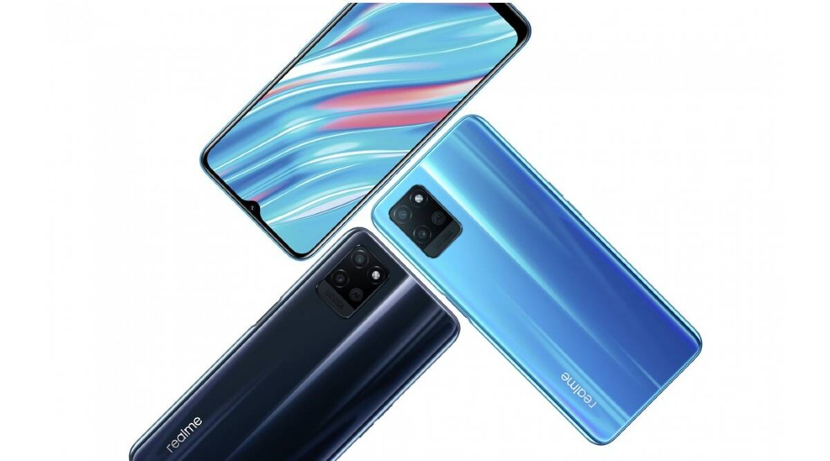 Realme launches V11, the cheapest 5G smartphone in the world - The Indian Express