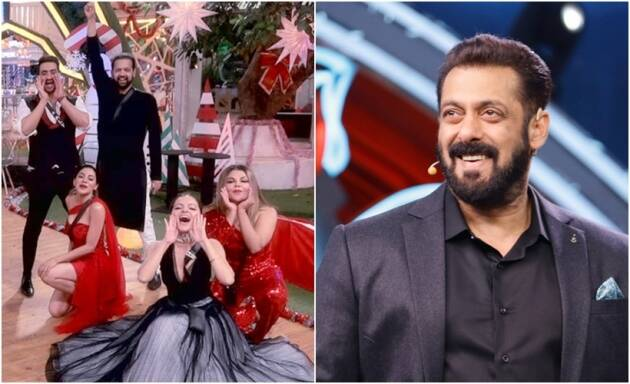 salman khan contestants dance bigg boss 14