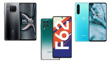 Samsung Galaxy F62, OnePlus Nord, Xiaomi Mi 10i, 5g phones, 5g phones in india