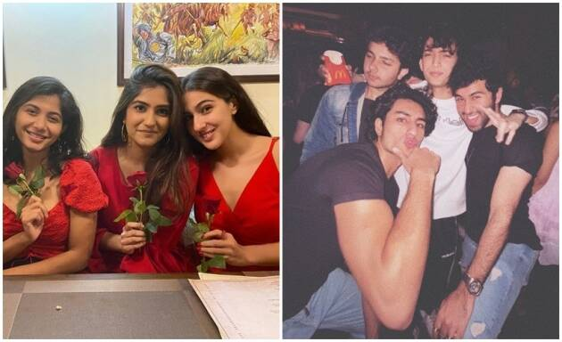 Sara Ali Khan, brother Ibrahim are chilling with their buddies photos