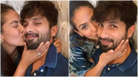 Shahid Kapoor and Mira Kapoor