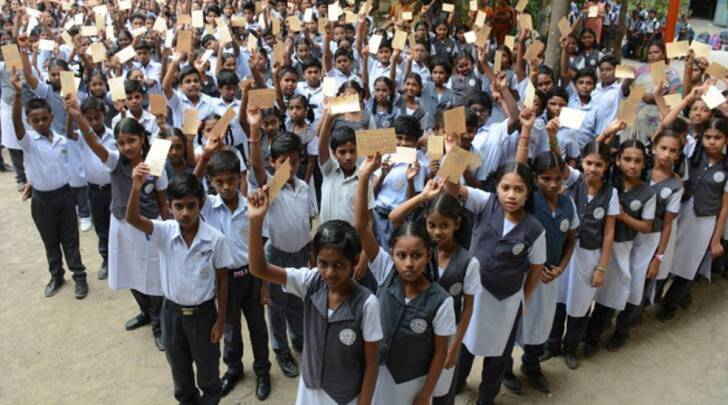 Tamil Nadu School, Tamil Nadu School Students, Tamil Nadu government school