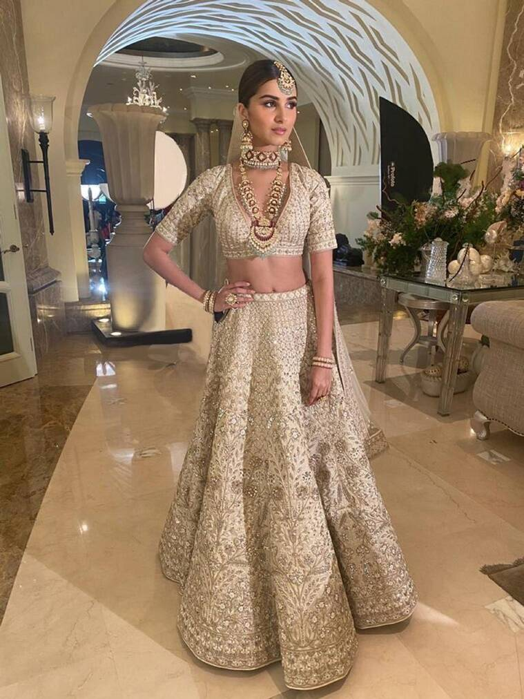Can you guess the price of Tara Sutaria's lehenga? Check it out here   Lifestyle News,The Indian Express